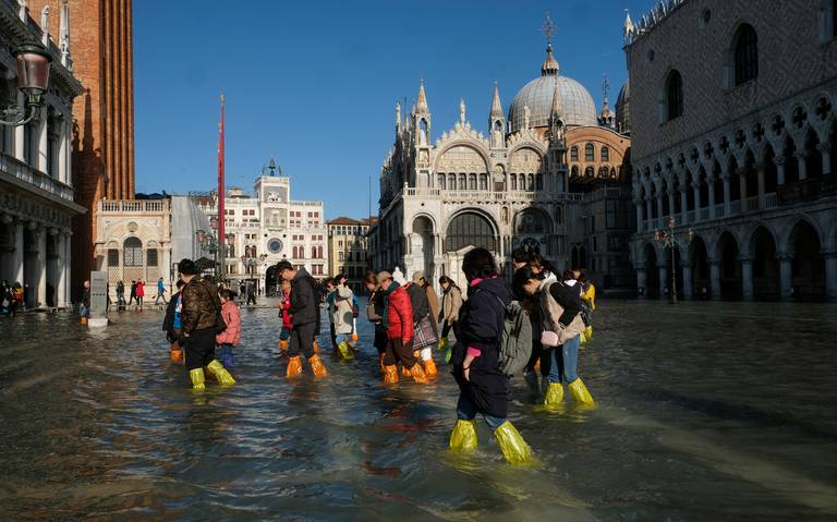 ¿Por qué Venecia se ahoga?