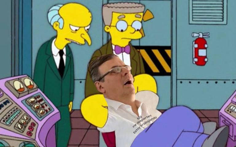 ¿En qué soñaba? Aquí los mejores memes de Marcelo Ebrard dormido en avión