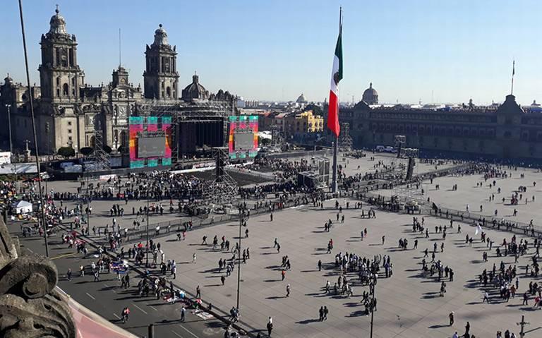 ¡Bailongo en el Zócalo! Así será el AMLO Fest por primer informe de gobierno