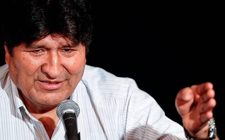 Evo Morales asegura no tener miedo a ser detenido