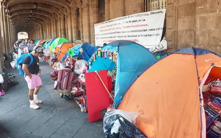 Realizan Jornada para detectar casos de COVID-19 entre manifestantes del Zócalo