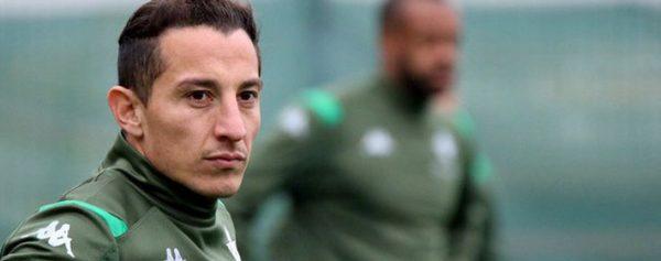 Andrés Guardado renueva con Betis hasta 2022