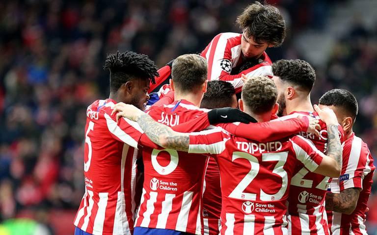 Atlético de Madrid se clasifica a los octavos de final de la Champions League