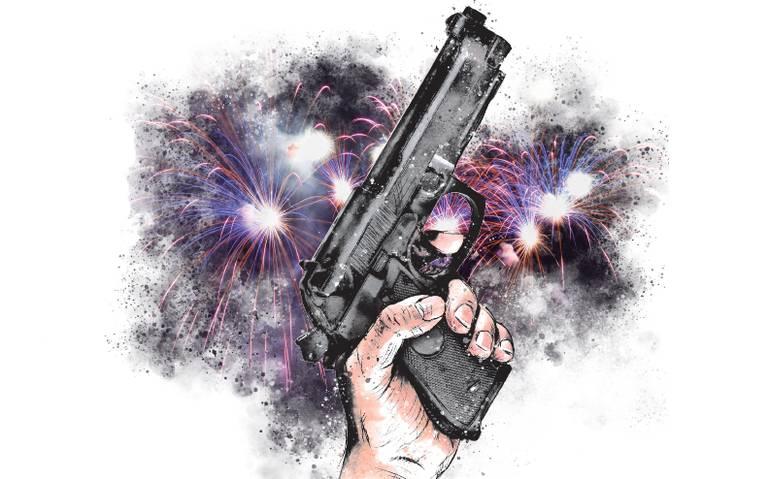 Disparos al aire por festejo o tradición, sin sanciones concretas