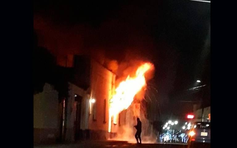 Madre y dos hijas mueren al arder su vivienda