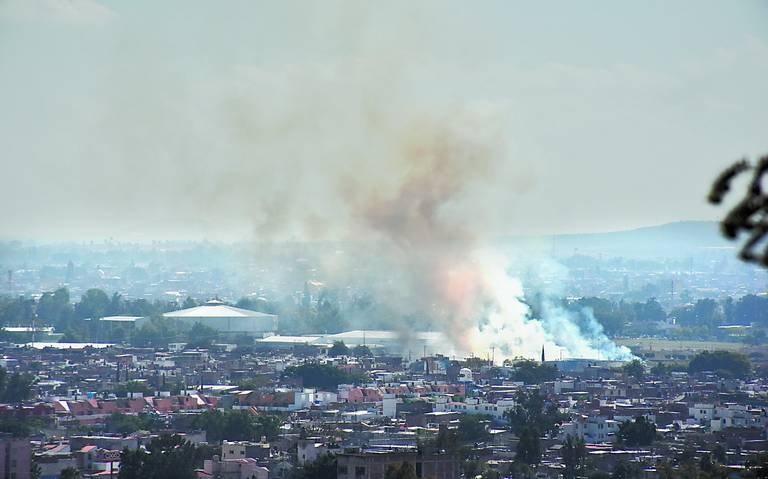 Grandes ciudades del país se ahogan en smog