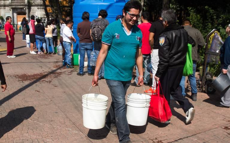 Azcapotzalco y la GAM se quedarán sin agua este fin de semana