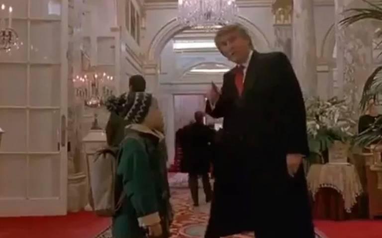 """Eliminan escena donde aparece Trump en """"Mi pobre angelito 2"""""""