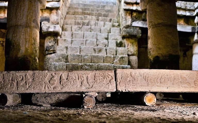 Hallan objetos mayas en la gran Chichén Itzá