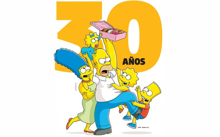 Los Simpson cumplen 30 años de ser los consentidos de la tv