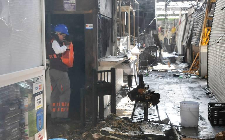 Reconstrucción del mercado de San Cosme tardará un año