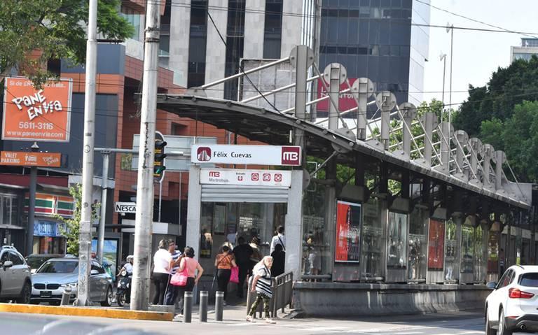 Va ampliación de estación del metrobús en Félix Cuevas