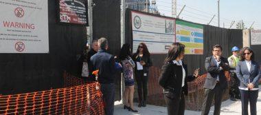 Van 100 mdp para calles aledañas a la embajada de EU