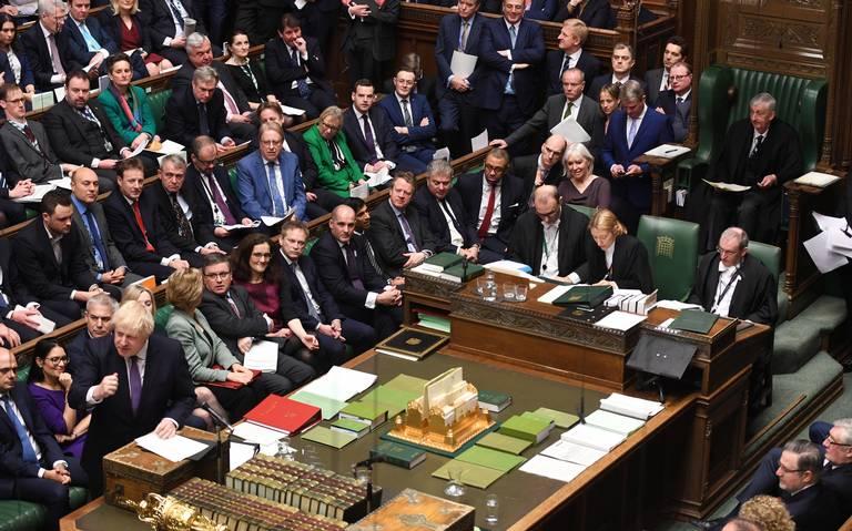 Parlamento británico aprueba primera fase del plan de Boris Johnson para salir de la UE