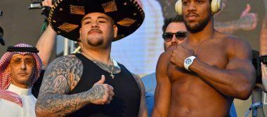 Andy Ruiz le saca 21 kilos de diferencia a Anthony Joshua en el pesaje