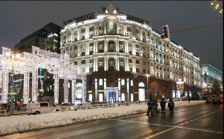 Calentamiento global provoca nieve falsa en Moscú