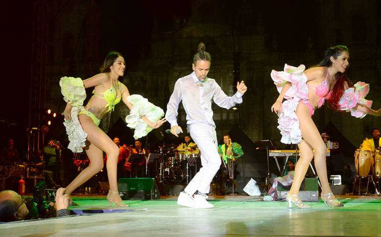 Rubén Alabarrán festeja al Rey del mambo