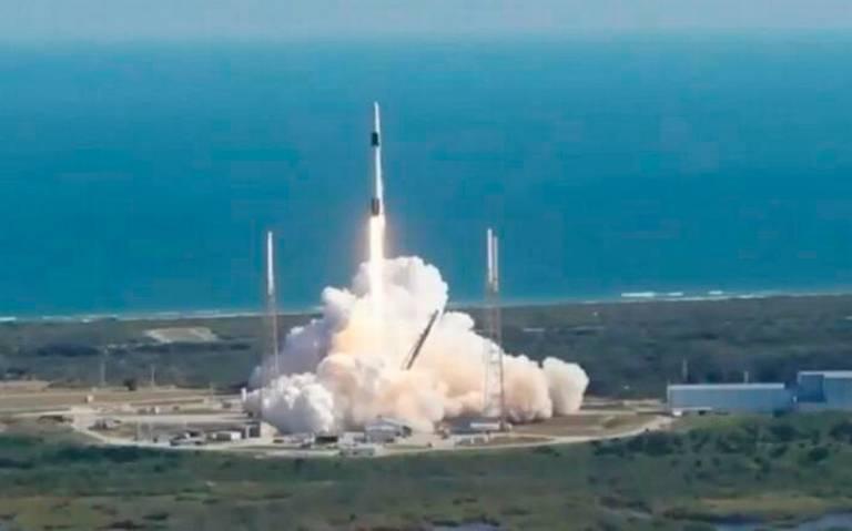 Lanzan con éxito al espacio el nanosatélite mexicano