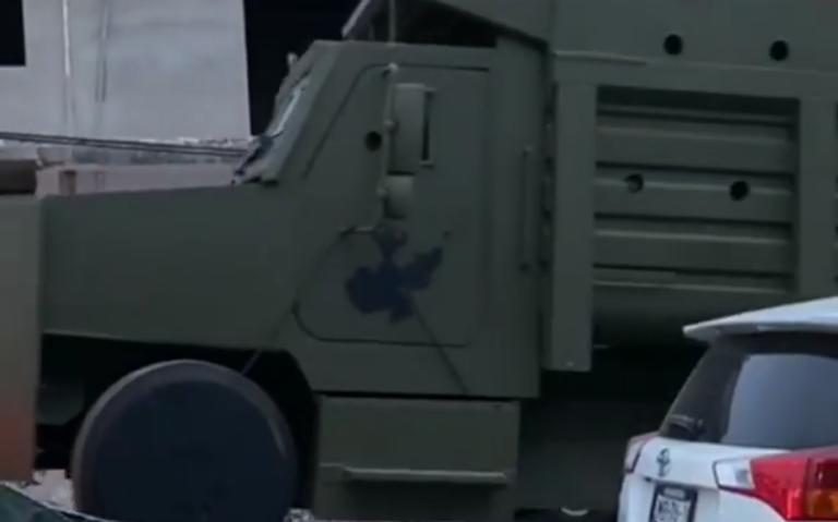 Aseguran vehículos de ataque del Cártel de Jalisco Nueva Generación