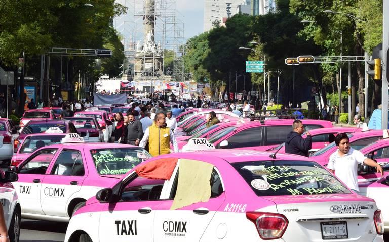Taxistas piden a AMLO intervenir en conflicto