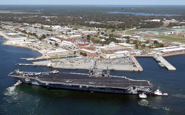 Tiroteo en base naval de Pensacola, Florida, deja al menos dos muertos