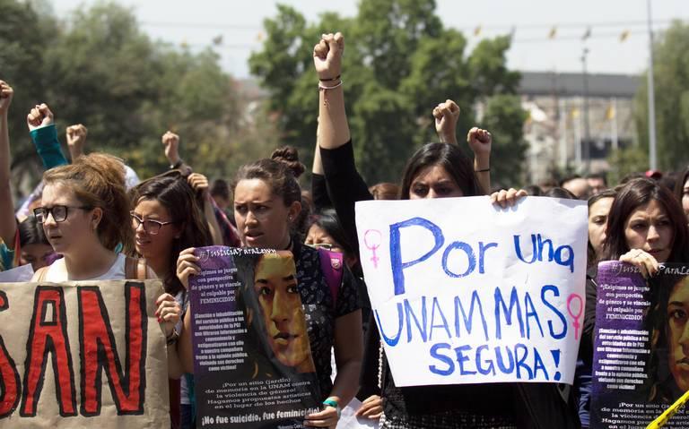 Solicitan apoyo federal por violencia de género en la UNAM
