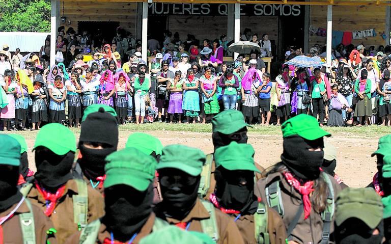 Zapatistas presumen cero feminicidios en su territorio