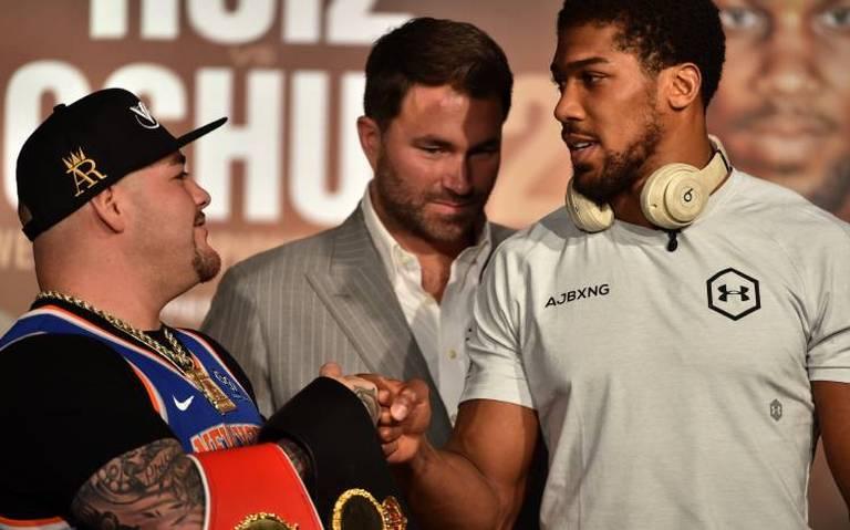 ¿A qué hora es la pelea de Andy Ruiz y Anthony Joshua?