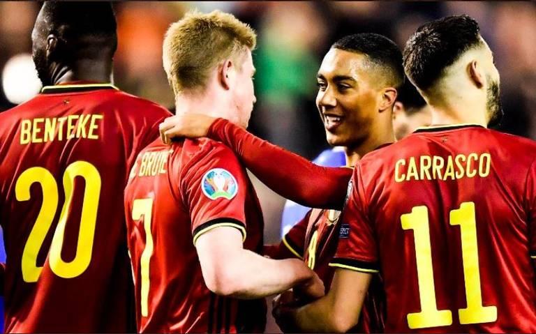 Bélgica es el equipo del año para la FIFA