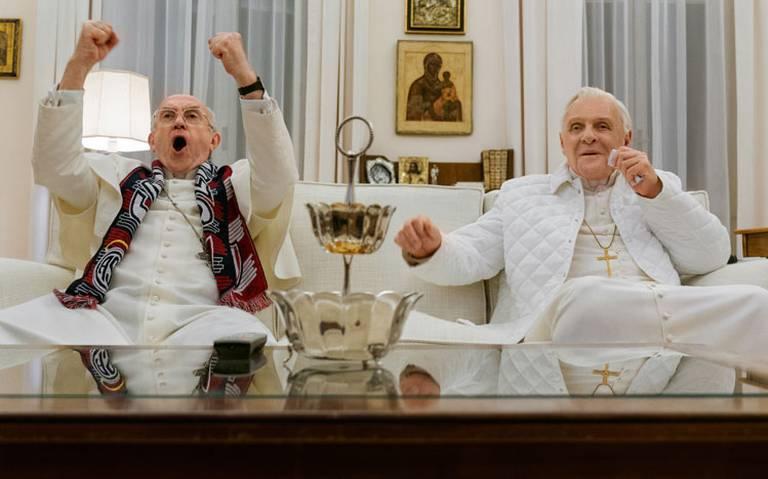 Los dos Papas, mezcla de humor y fe