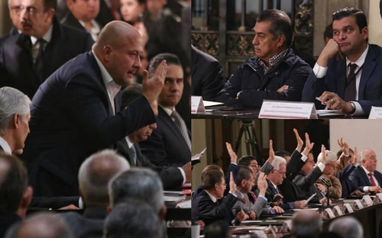 Gobernadores exigen a AMLO no politizar la crisis de inseguridad