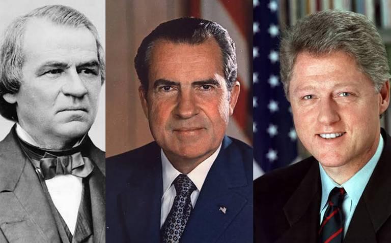 Antes de Trump, otros tres presidentes fueron sometidos al impeachment