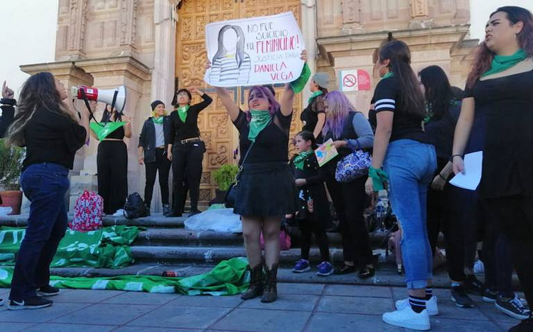 Colectivos exigen aborto legal en Zacatecas