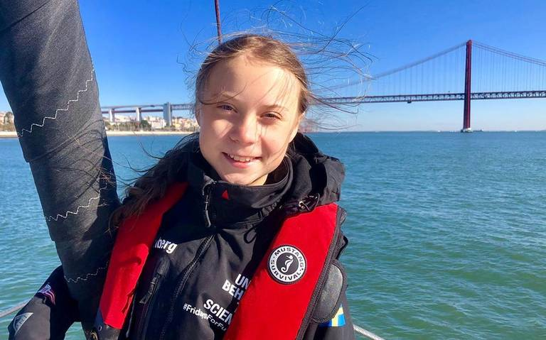 Greta Thunberg, personalidad del año de la revista TIME