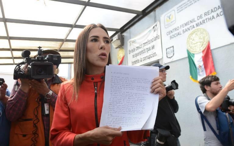 Hija de Rosario Robles solicita audiencia con el fiscal Gertz Manero