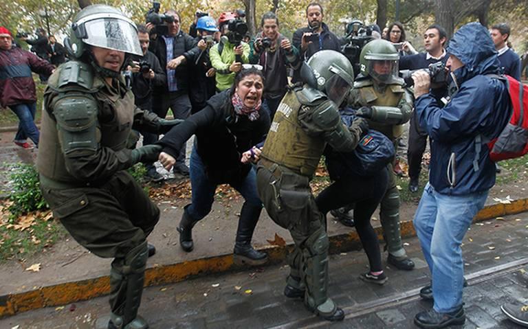 ONU denuncia violaciones de DH por policías en protestas de Chile