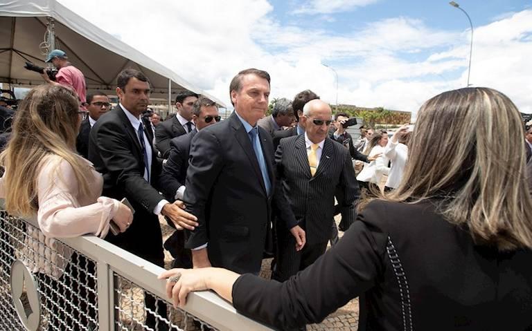 Bolsonaro hablará con Trump por amenaza de aranceles contra Brasil
