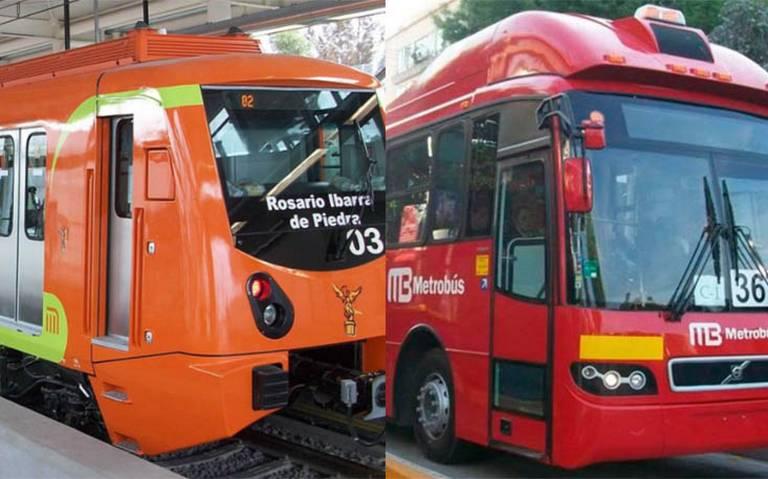 Aquí los horarios especiales del Metro y Metrobús para el 24 y 25 de diciembre