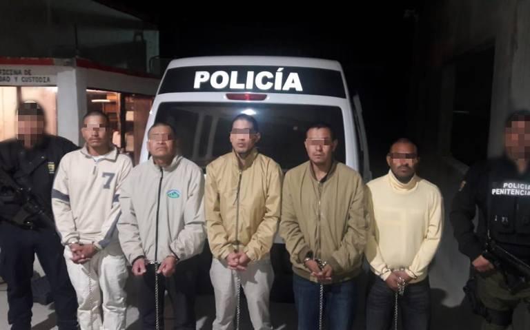 Trasladan a penal federal a implicados en ataque en Villa Unión