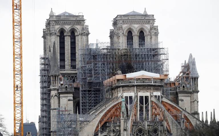 Corre riesgo la restauración de Notre Dame