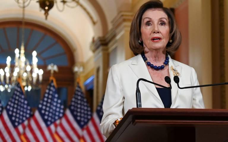 Congreso procederá con la acusación formal para destituir a Trump, anuncia Pelosi