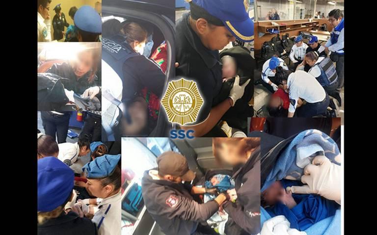 Policías capitalinos están capacitados para atender partos de urgencia