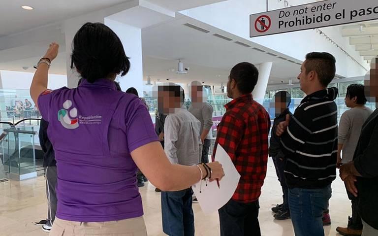 Desde EU repatrian a 132 migrantes mexicanos por PRIM
