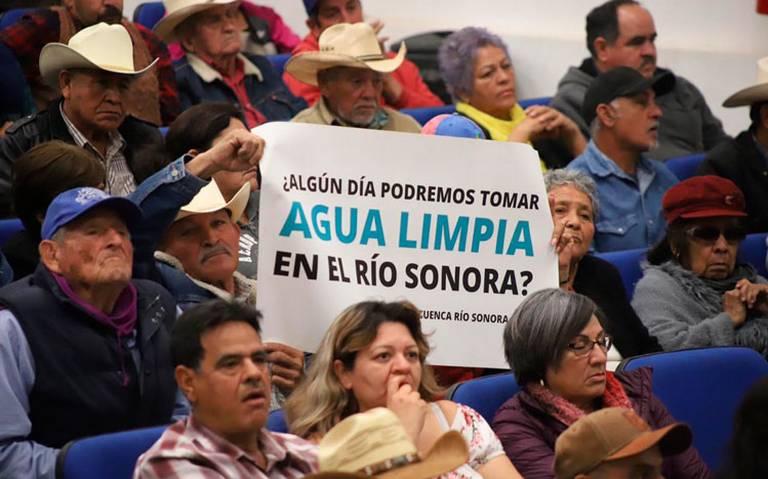 Detallan acciones sobre derrame en río Sonora de hace cinco años