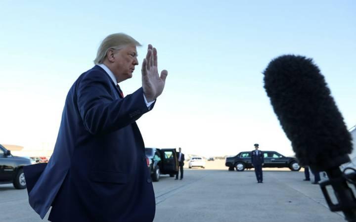 """""""Desde el inicio ha sido un proceso manipulado"""", acusa Trump sobre juicio político"""