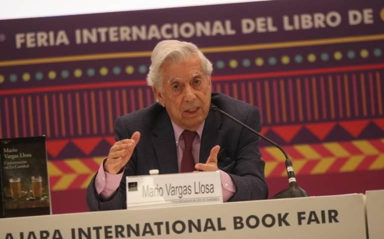 Vargas Llosa esquiva confrontación política