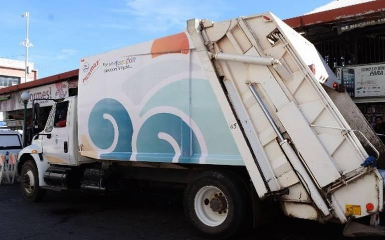Prevén llegada de diez nuevos camiones recolectores de basura
