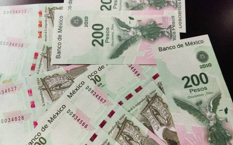 Pega desaceleración a emisión de billetes