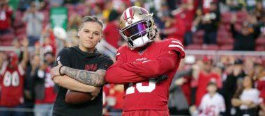 ¡Conoce a Katie Sowers, la primera mujer coach que llega al Super Bowl!