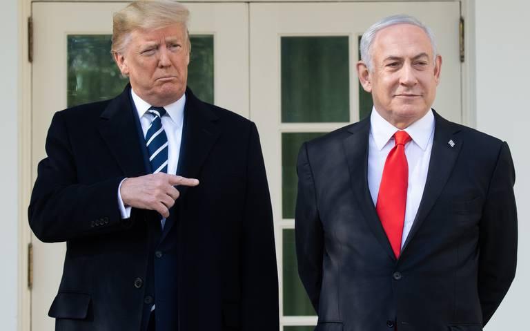 Trump devela su plan de paz para Medio Oriente
